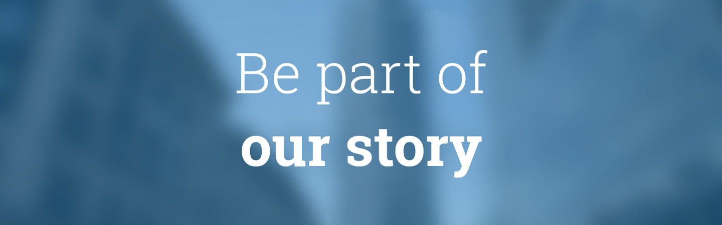 be part of our story